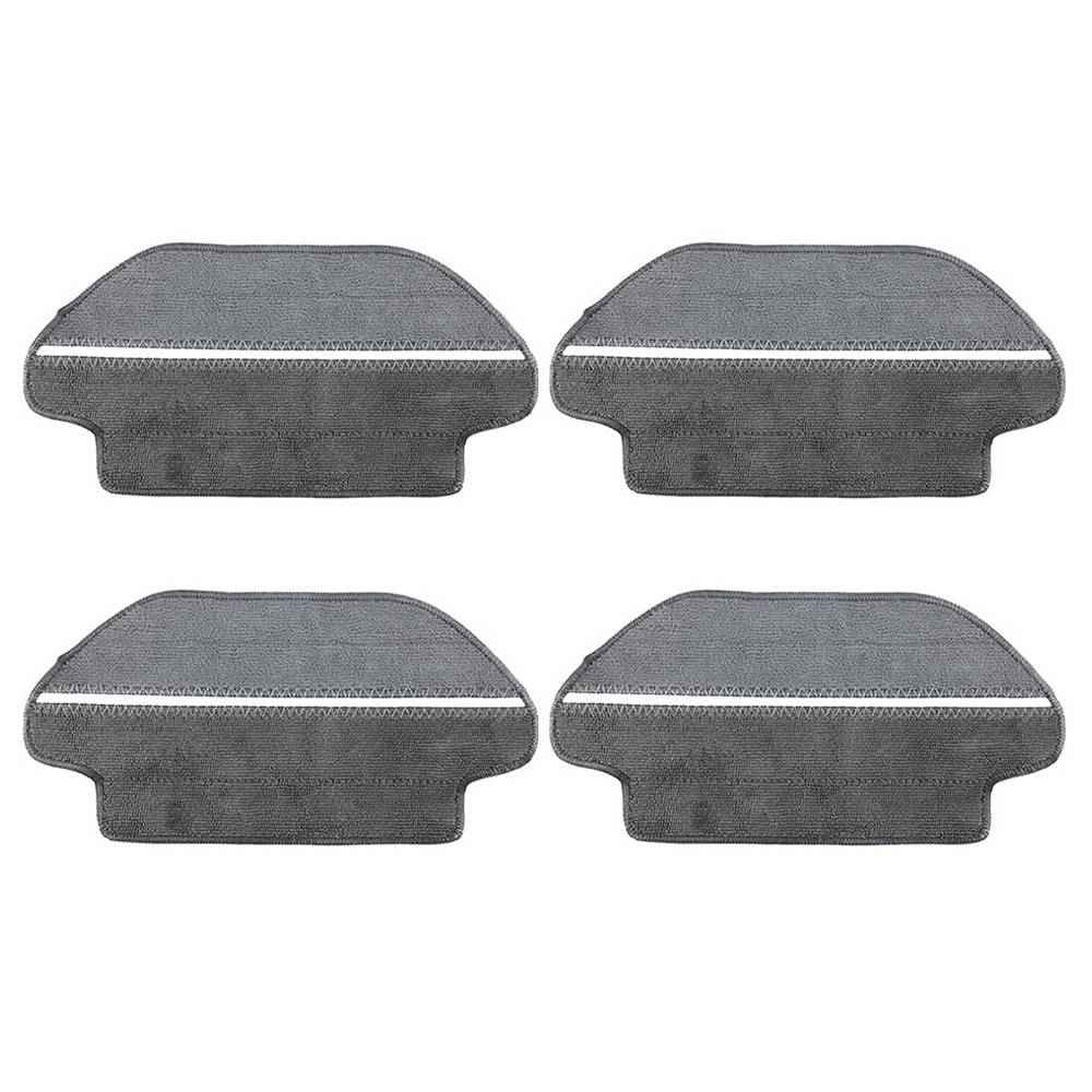 4 pièces chiffons séparés secs et humides pour aspirateur robot domestique Xiaomi VIOMI V2 / V2 Pro / V3 / MI