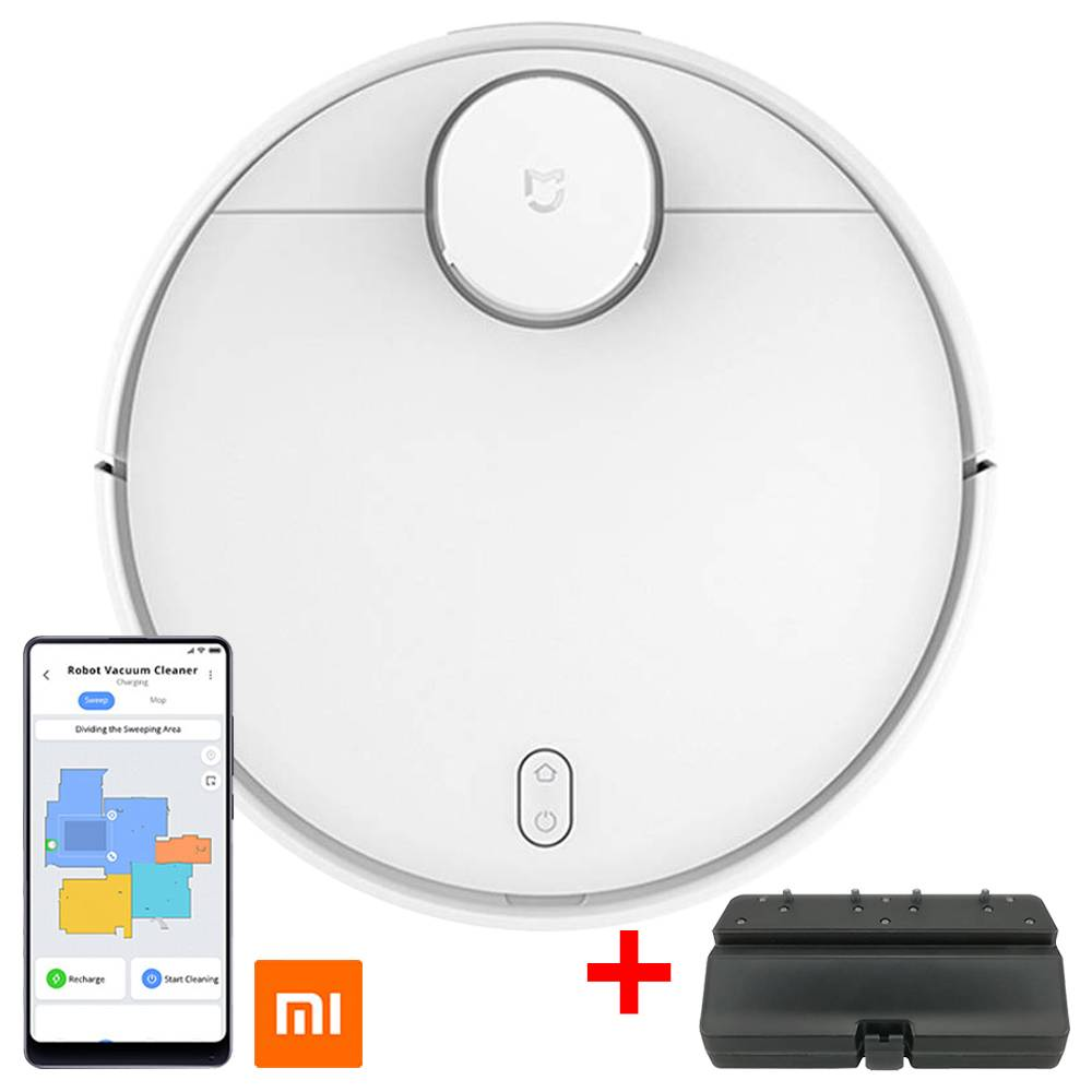 Xiaomi Mijia Pro STYJ02YM Robot Vacuum Cleaner LDS Version White