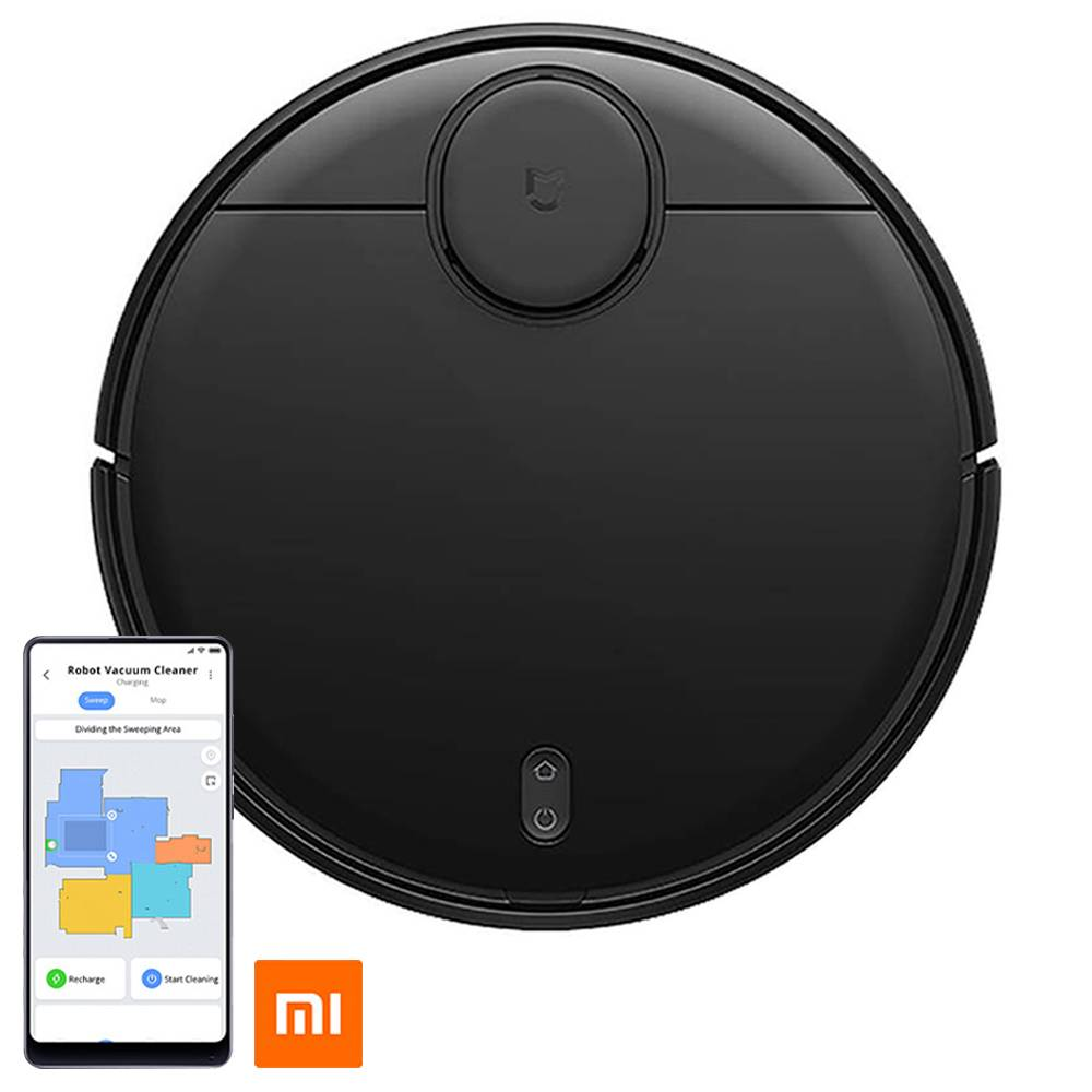Xiaomi Mijia Pro STYJ02YM Robot Vacuum Cleaner LDS Version 2100pa Intelligent Electric Control Water Tank Three Cleaning Modes - Black