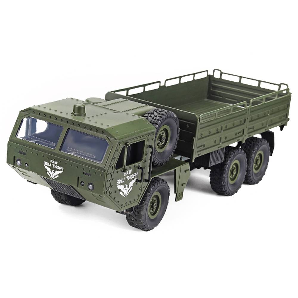 JJRC Q75 1/16 2.4Ghz Radio Control RC Voiture Militaire Hors Route Rock Crawler RTR - Vert