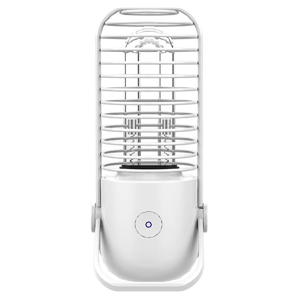 Xiaoda Αποστείρωση Φωτιστικό γραφείου Φορητή φόρτιση USB UV + Όζον Διπλή λειτουργία αποστείρωσης για βακτηριακή λοίμωξη ιού - Λευκό