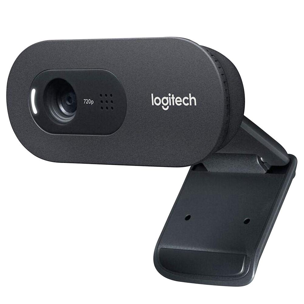 Κάμερα Web Logitech C270i HD 720p Ενσωματωμένο μικρόφωνο Σταθερή εστίαση Κάμερα Web Για Υποστήριξη Υπολογιστών Windows MAC Android - Μαύρο