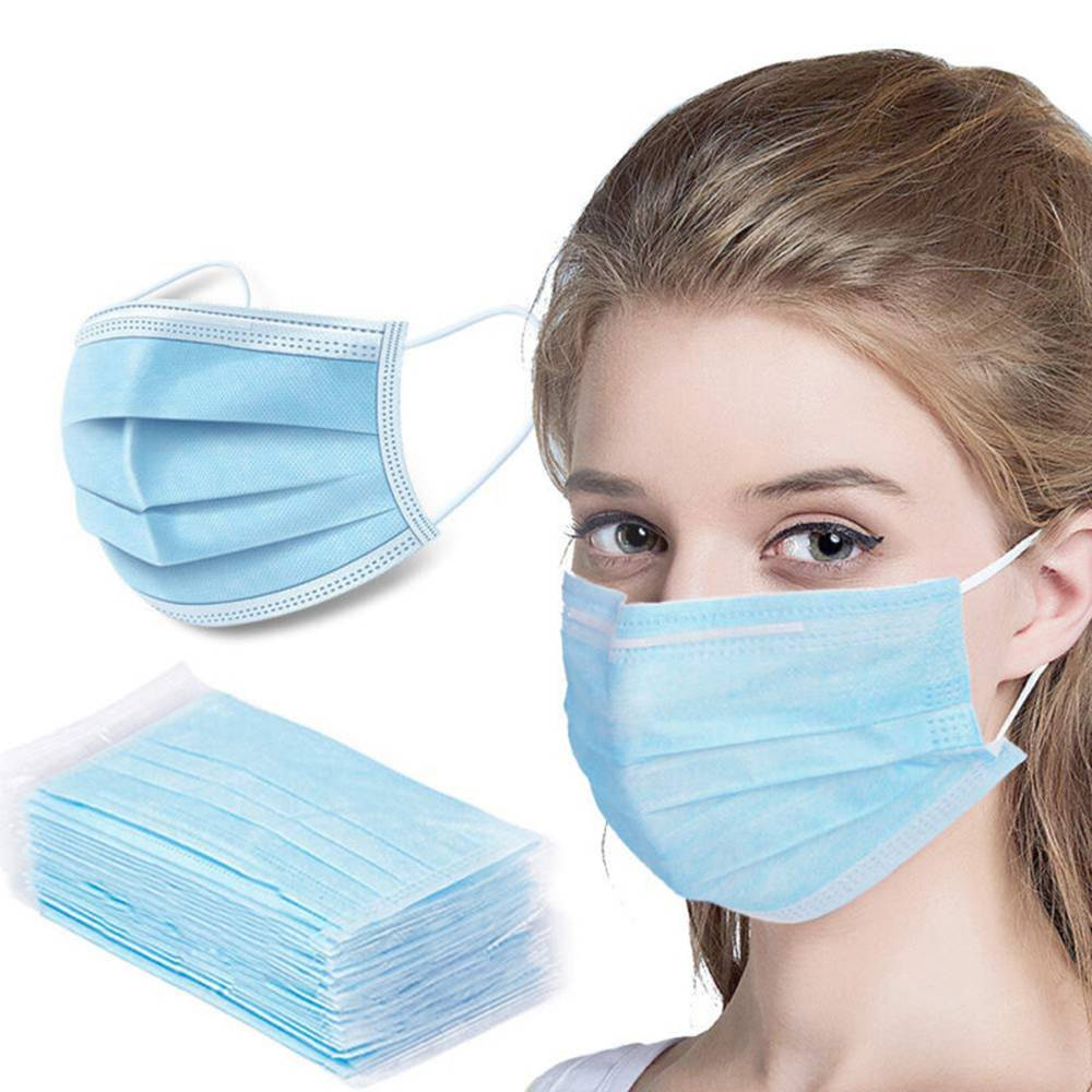 50PCS Medical Disposable Masks With CE FDA Certified
