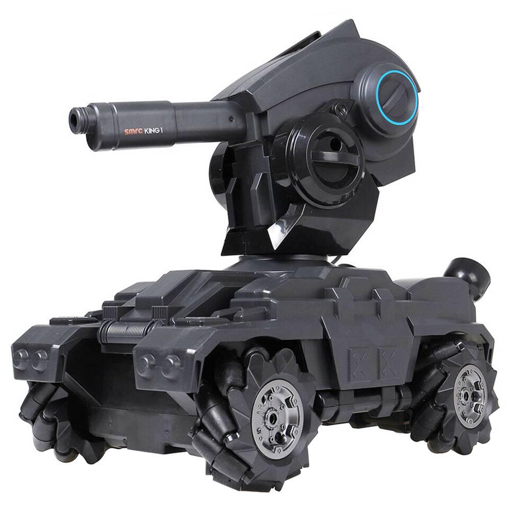 SMRC M10 1:10 2.4G قنابل الماء معركة دبابات الانجراف 10 كم / ساعة عالية السرعة 360 درجة تناوب خزان RC داخلي نسخة مطورة - بطارية واحدة