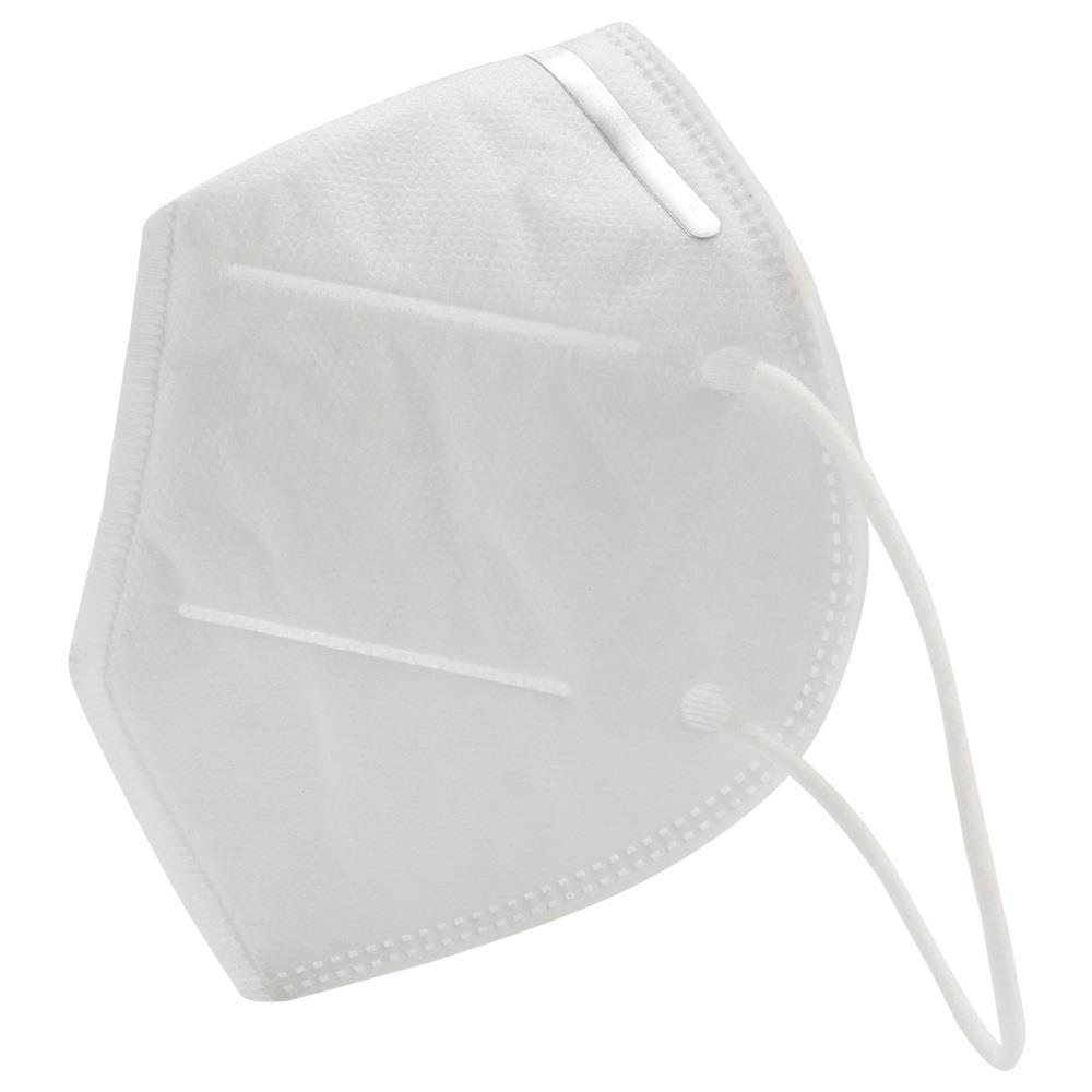 2PCS 4 ply KN95 Disposable Masks For Germ Protection With CE FDA Certified Anti Virus - White