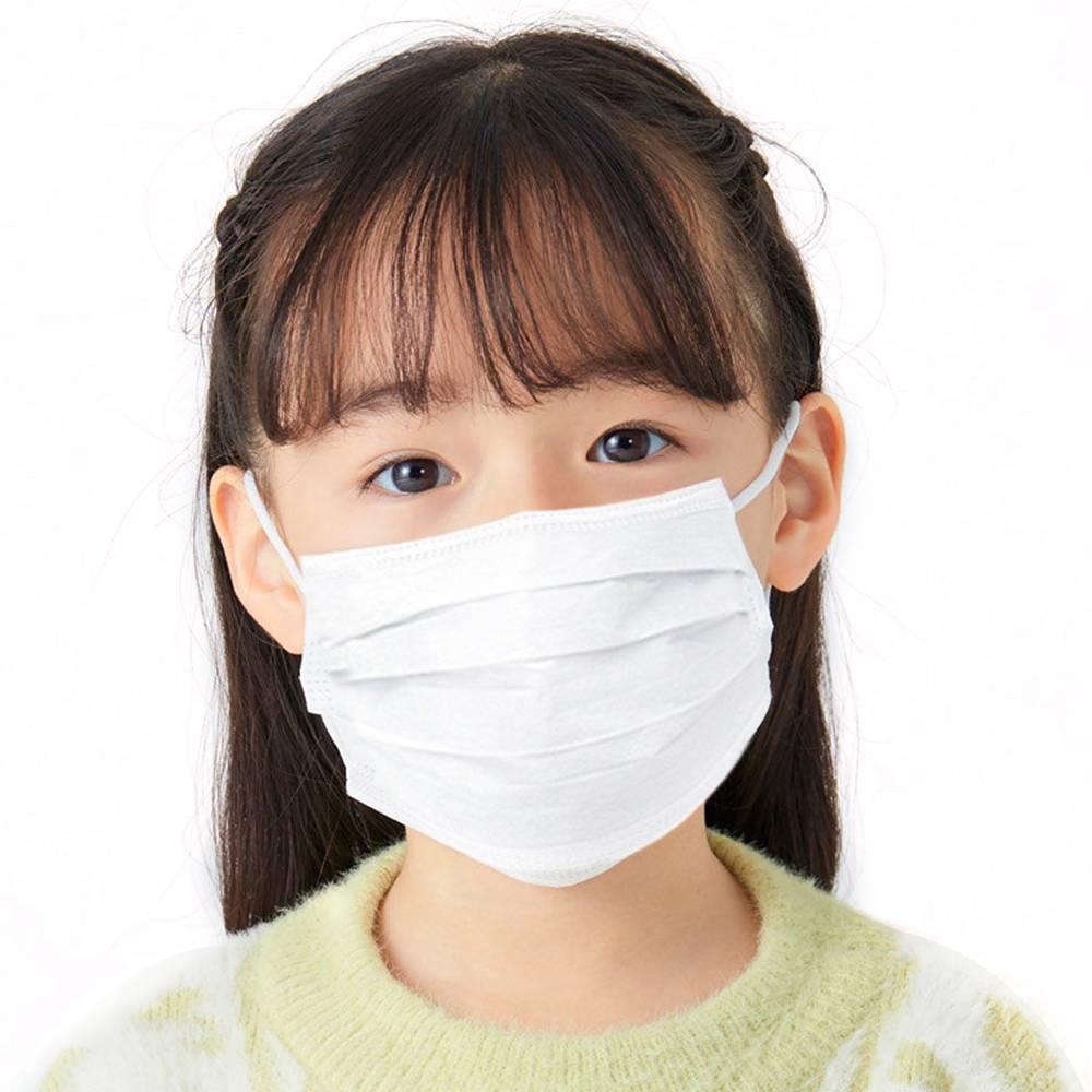 50PCS/box Disposable Kids Mask Bacteria