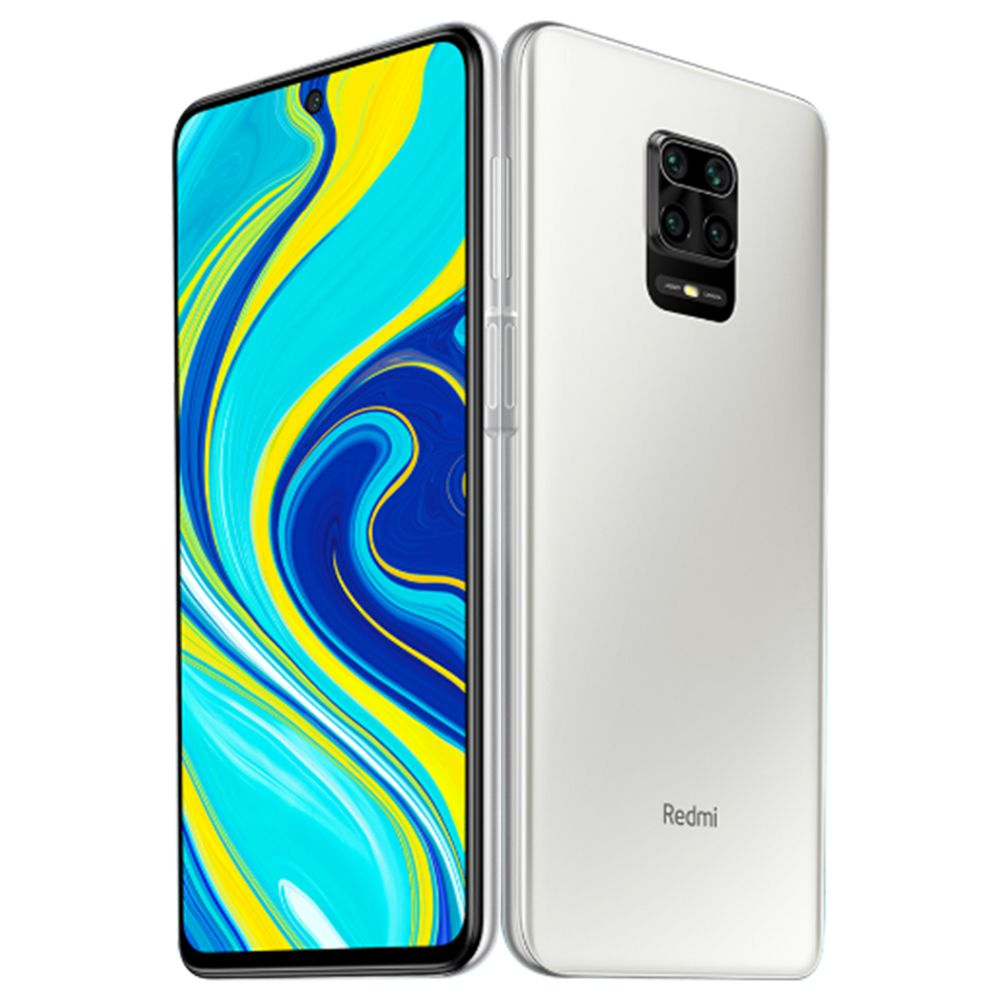Xiaomi Redmi Note 9S 6.67 Inch 4G LTE Smartphone Qualcomm Snapdragon 720G 4GB RAM 64GB ROM Quad Rear Cameras Android 10.0 Dual SIM Dual Standby Global Version - Glacier White