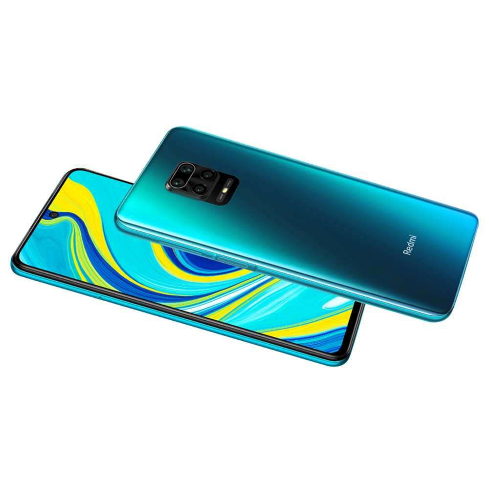 Xiaomi Redmi Note 9S 6.67 Inch 4G LTE Smartphone Qualcomm Snapdragon 720G 6GB RAM 128GB ROM Quad Rear Cameras Android 10.0 Dual SIM Dual Standby Global Version - Aurora Blue