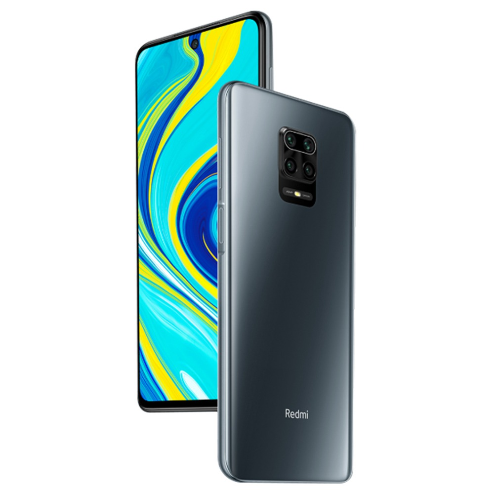 Xiaomi Redmi Note 9S 6.67 Inch 4G LTE Smartphone Qualcomm Snapdragon 720G 6GB RAM 128GB ROM Quad Rear Cameras Android 10.0 Dual SIM Dual Standby Global Version - Interstellar Gray