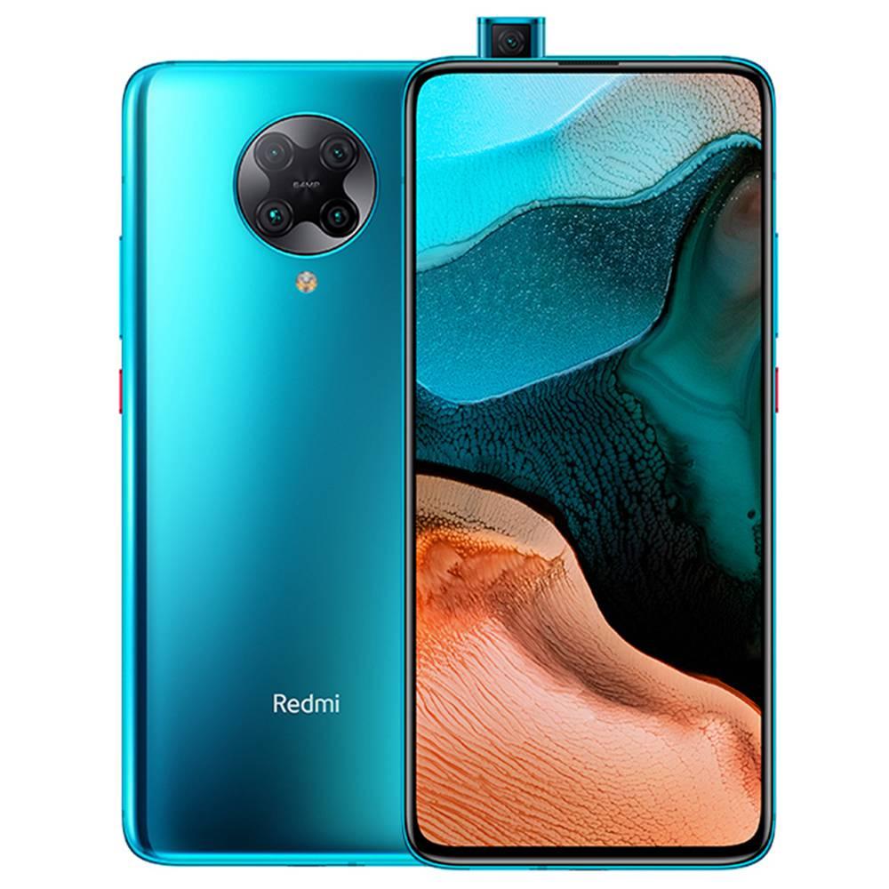 "Xiaomi Redmi K30 Pro CN 6.67 ""-es 5G okostelefon Qualcomm Snapdragon 865 6 GB RAM 128 GB ROM Négyes hátsó kamera Android 10.0 Dual SIM Dual Standby - kék"