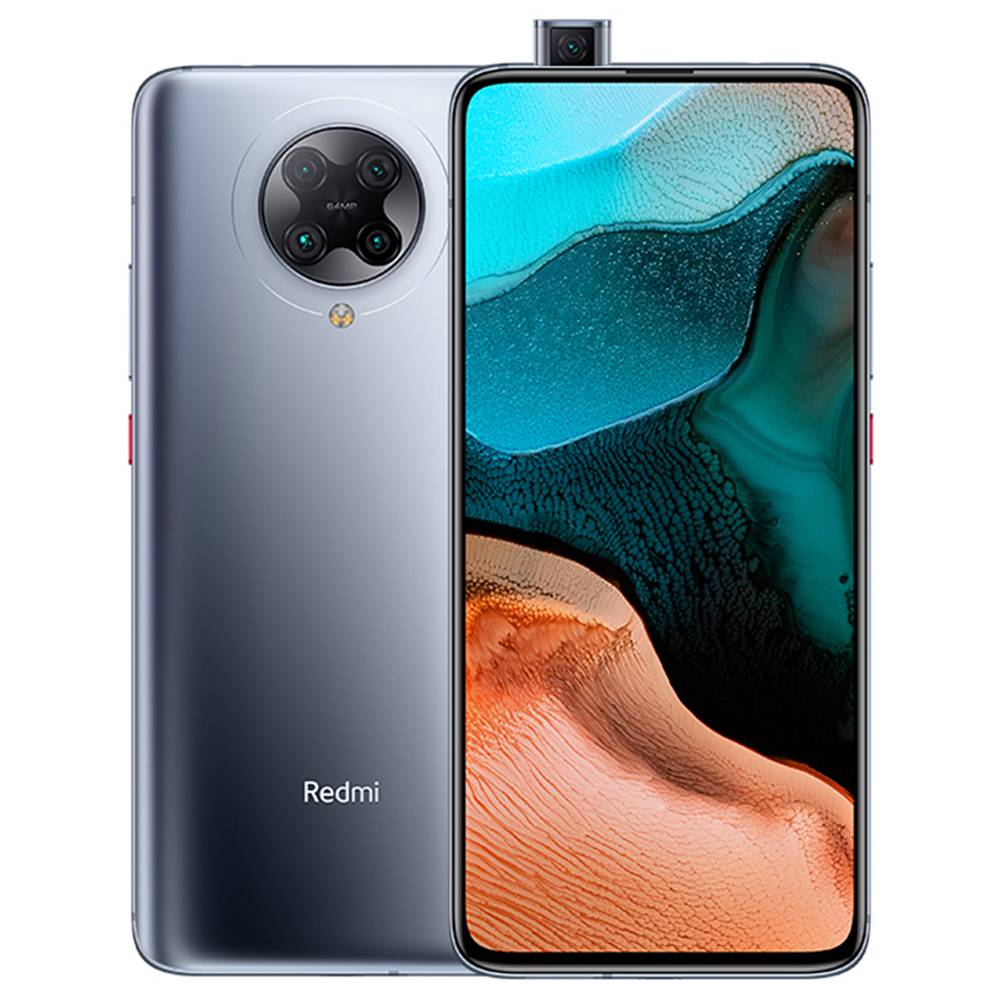 "Xiaomi Redmi K30 Pro Zoom Edition CN Version 6.67"" 5G Smartphone Snapdragon 865 8GB RAM 256GB ROM Quad Rear Camera Android 10.0 - Grey"