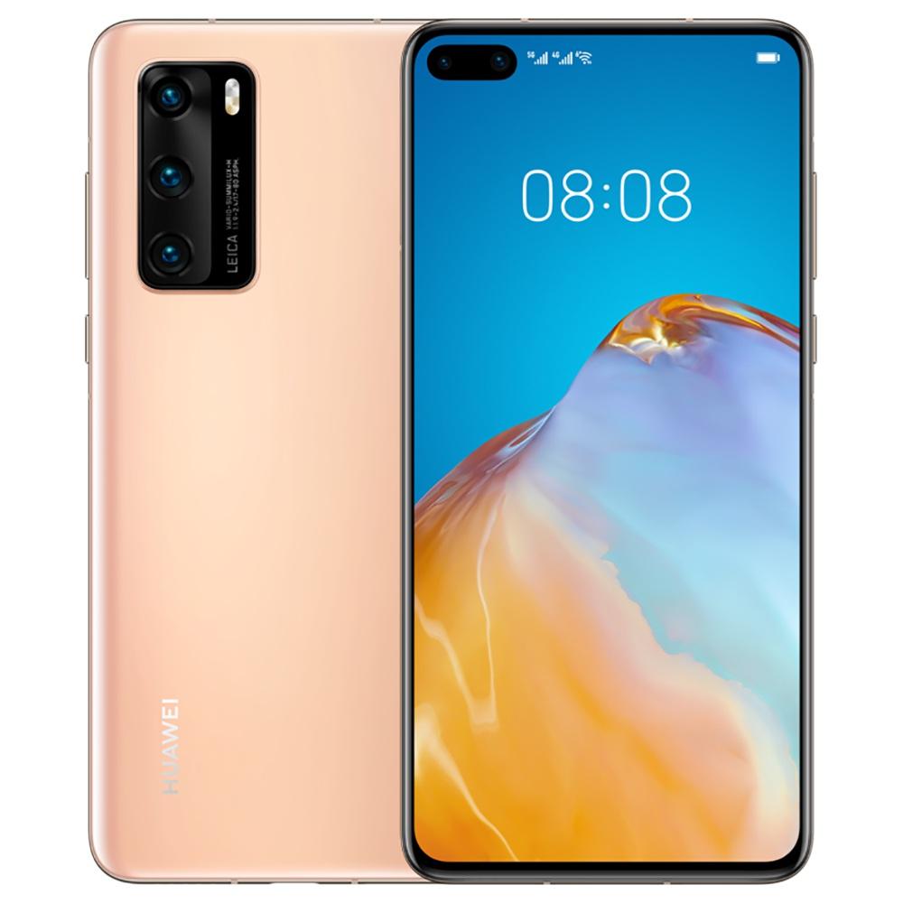 "HUAWEI P40 CN Έκδοση 6.1 ""5G Smartphone Kirin 990 8GB RAM 256GB ROM Διπλές μπροστινές Τριπλές Κάμερες Πίσω Android 10.0 Dual SIM Διπλή Αναμονή - Χρυσό"