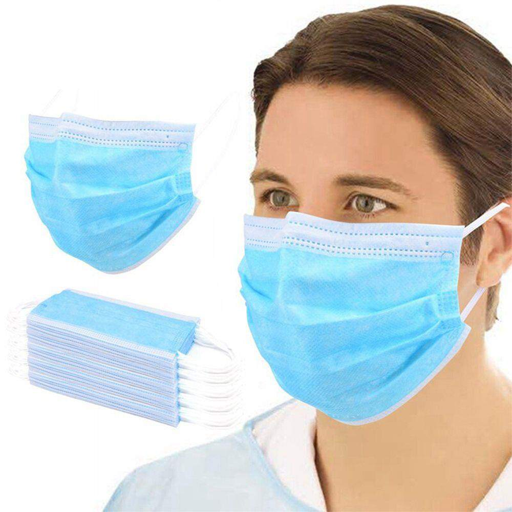 40PCS Medical Surgical Disposable Masks 3-Layers Protective EO Sterilization BFE 95% Filtration With CE Certified Safety Mouth Mask
