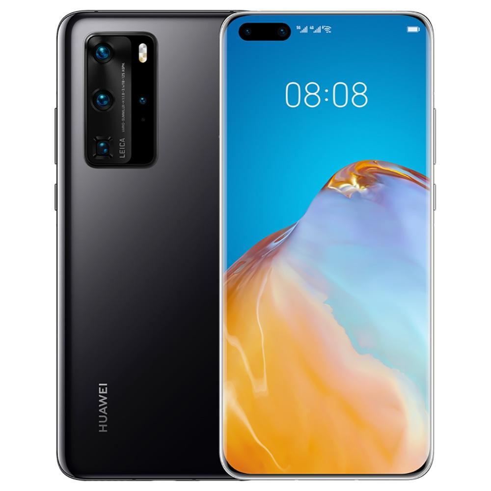 "HUAWEI P40 Pro CN Έκδοση 6.58 ""5G Smartphone Kirin 990 8GB RAM 128GB ROM διπλής εμπρός Quad πίσω κάμερες Android 10.0 Dual SIM Διπλή αναμονή - μαύρο"