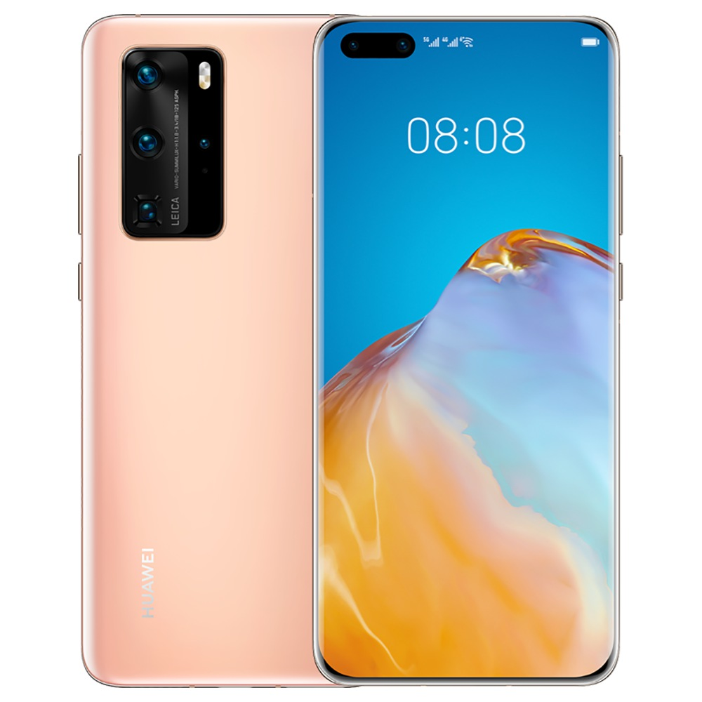"""HUAWEI P40 Pro CN Version 6.58 """"5G Smartphone Kirin 990 8GB RAM 128GB ROM Double Front Quad Caméras arrière Android 10.0 Dual SIM Dual Standby - Gold"""