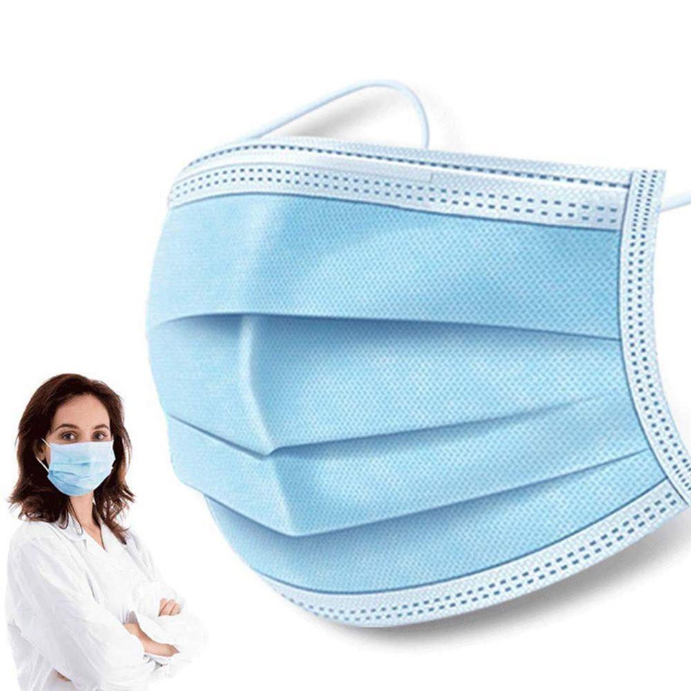50PCS Xiaolai 3 ply Medical Disposable Masks Enhance Blue