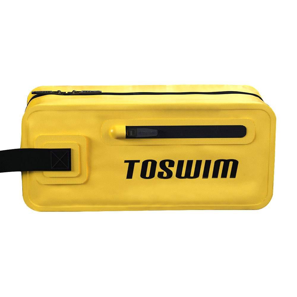 TOSWIM حقيبة يد متعددة الوظائف 4L مضادة للماء حقيبة تخزين الفصل الجاف الرطب 500D نايلون بولي كلوريد الفينيل كلوريد من Xiaomi Youpin - أصفر