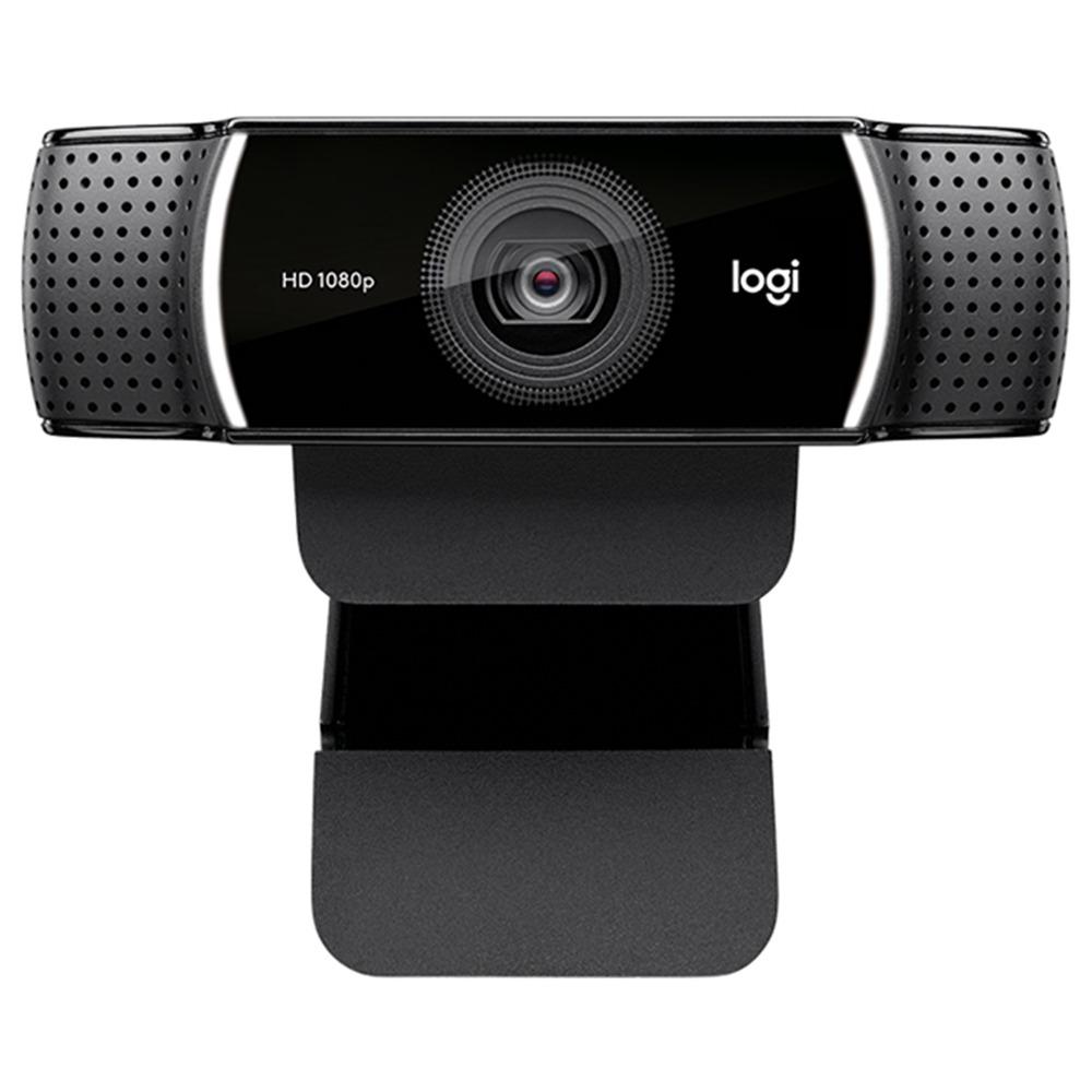 Η κάμερα Logitech C922 Pro Autofocus Webcam 1080P Κάμερα Web Full HD 30FPS Ενσωματωμένη κάμερα Web Stream Mic - Μαύρη
