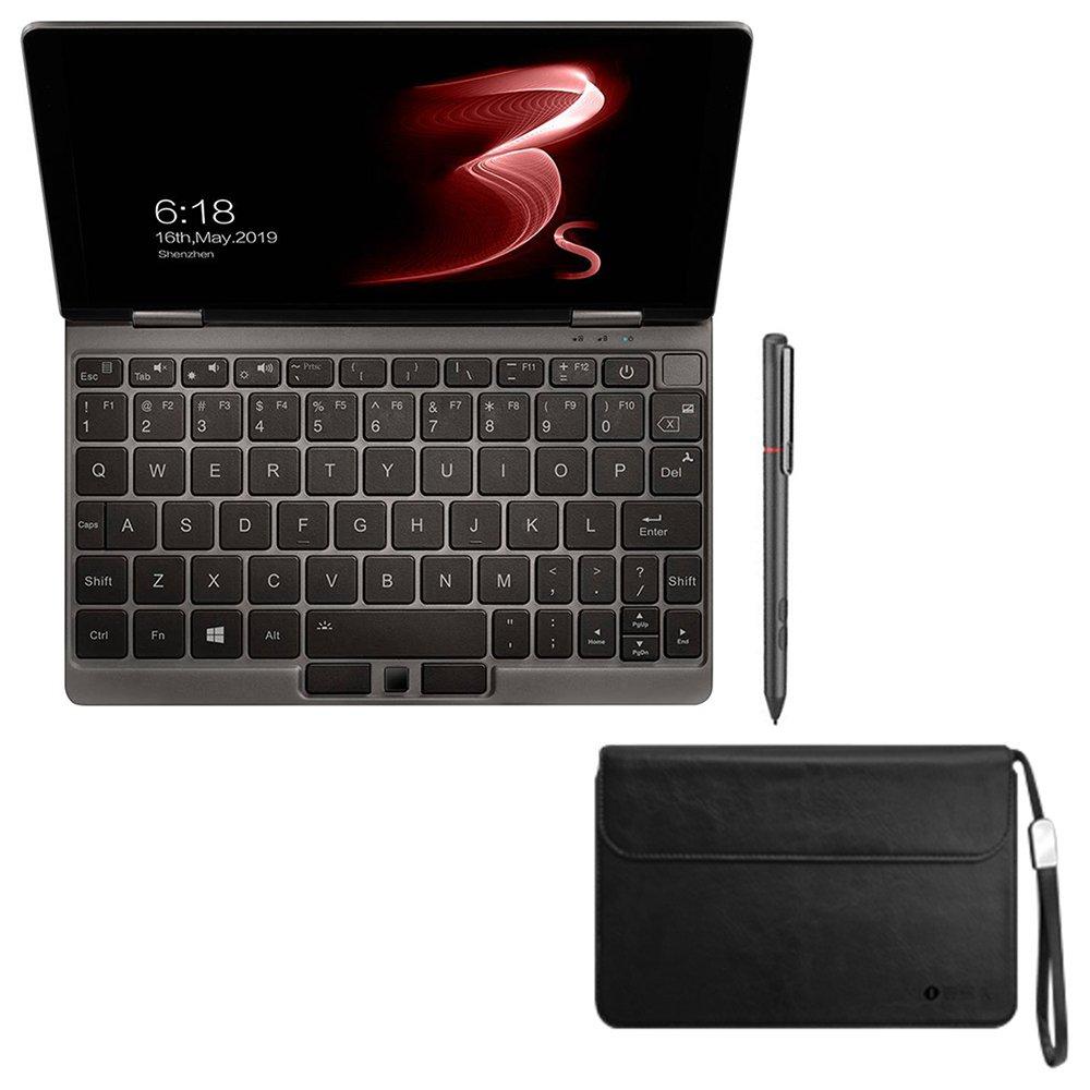 """One Intel® Core ™ i3-7Y 10510 """"οθόνη αφής 8.4 * 2560 1600GB RAM 16GB SSD Windows 512 + στυλό Stylus + προστατευτική θήκη - γκρι"""