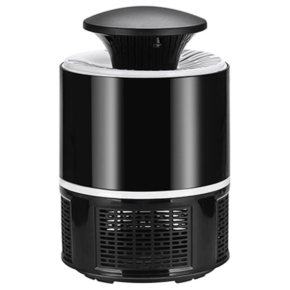 Лампа для электрического москитного убийцы Портативный Mute Pure физический фотокатализатор Лампа для борьбы с насекомыми-вредителями Для дома на открытом воздухе USB версия 365 - черный
