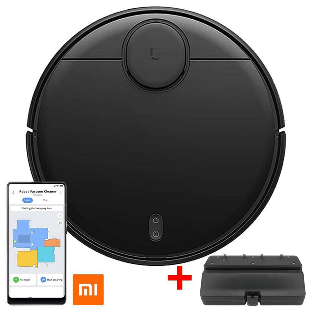 Xiaomi Mijia Pro STYJ02YM Robot Vacuum Cleaner LDS Version 2100pa Intelligent Electric Control Water Tank Three Cleaning Modes + Extra Water Tank