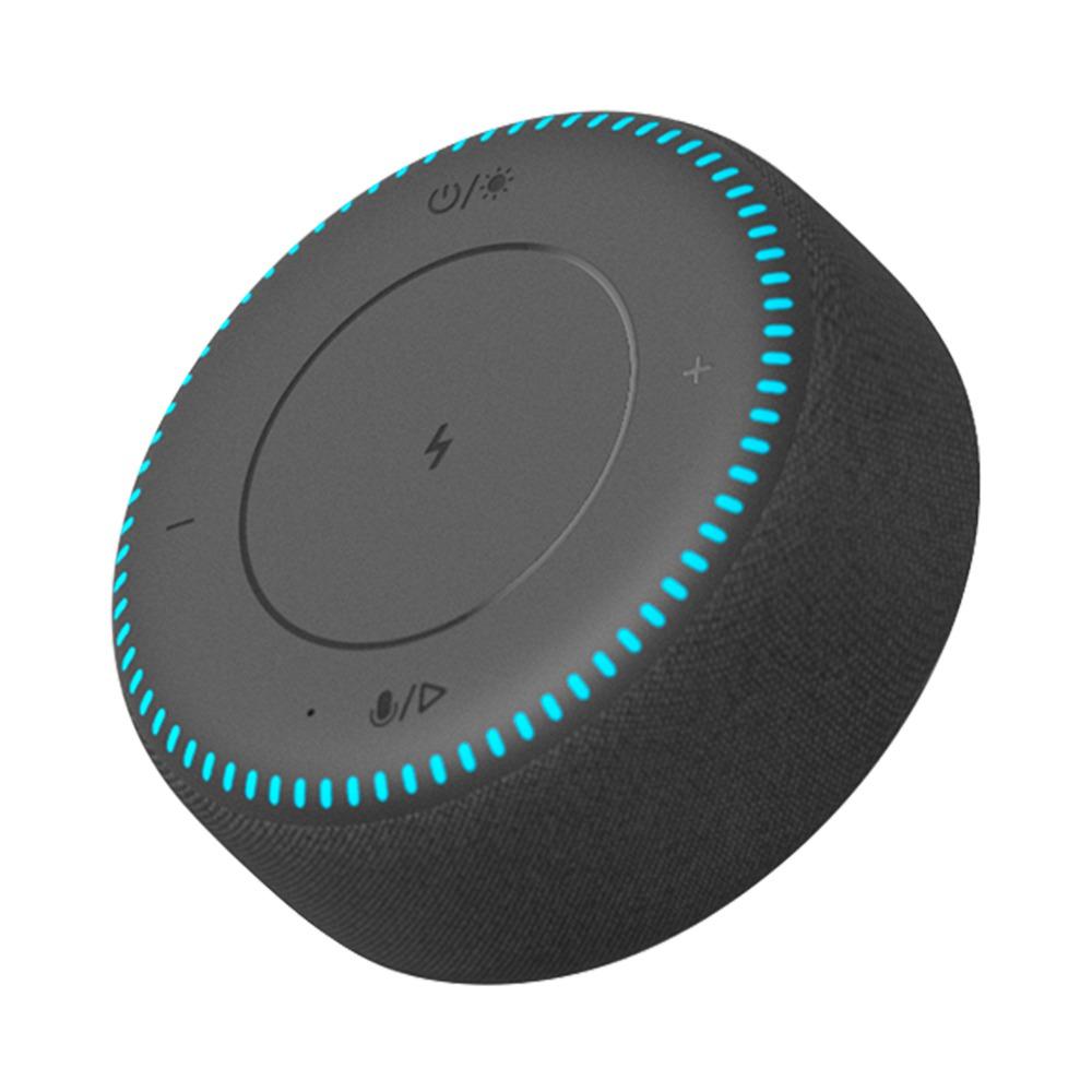 ZMI Bluetooth5.0スピーカー20Wワイヤレス充電器RGBライト内蔵マイクハンズフリー通話-ブラック