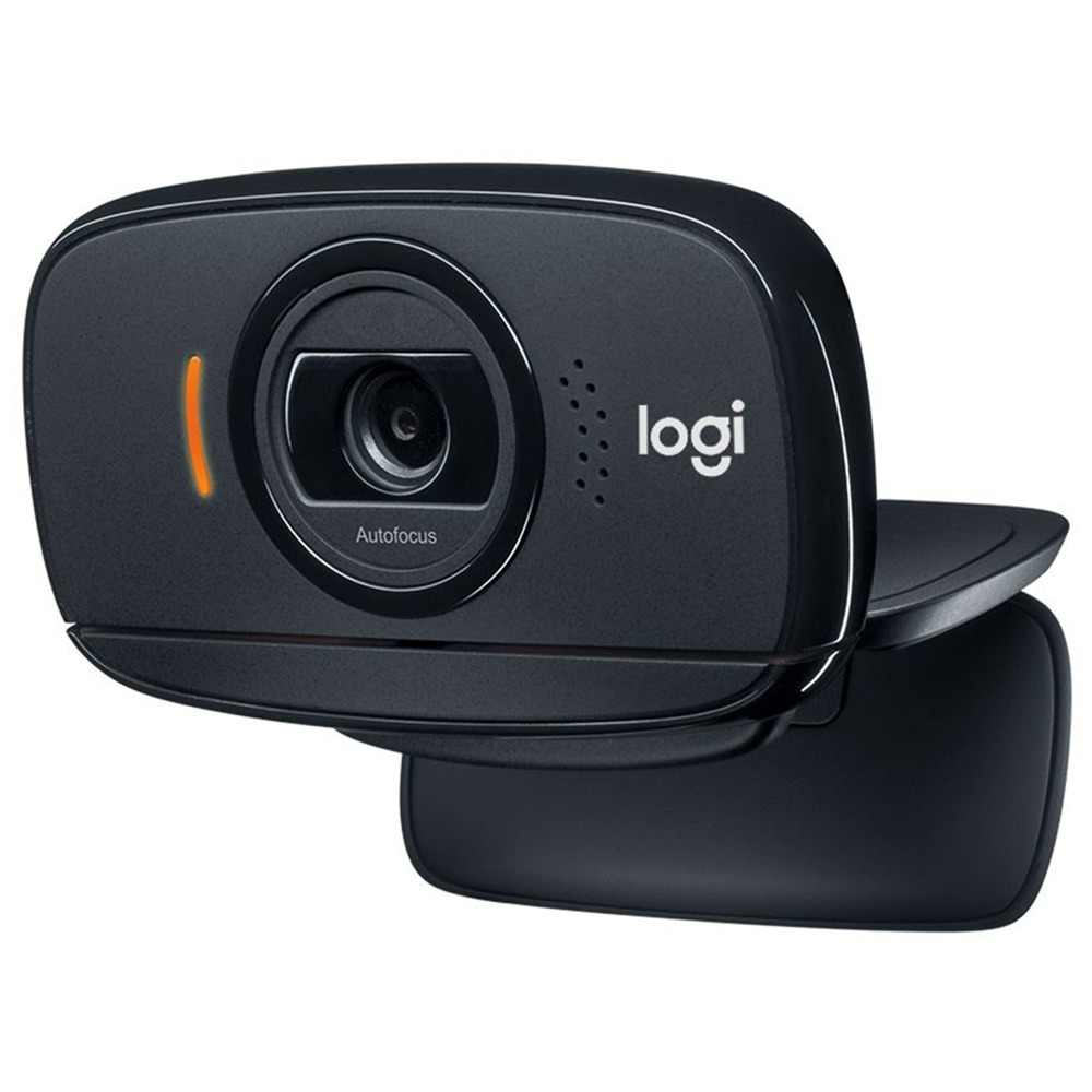 Autofocus 525MP Kamera 8 Logitech C360 HD Video Web Kamerası Dönen 720P USB2.0 - Siyah