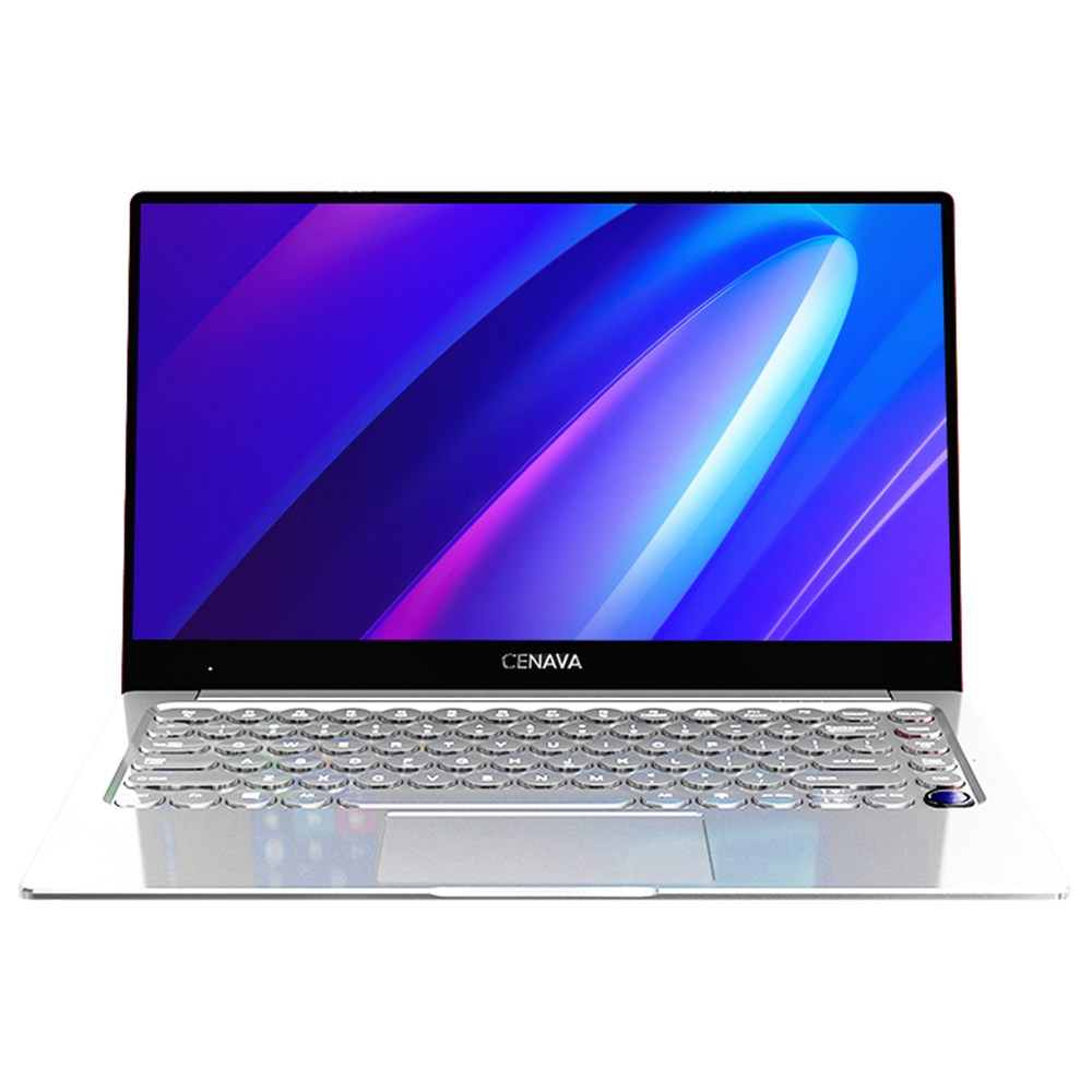מחשב נייד CENAVA N145 Intel Core i7-6500U 14.1 אינץ 1920 x 1080 מסך IPS NVIDIA GeForce 940M Windows 10 8GB LPDDR4 128GB SSD - כסף