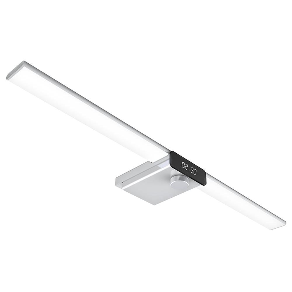 EZVALO Lampada da gabinetto a scansione manuale wireless intelligente da 600 mm Tecnologia della luce a LED Luminosità massima 400 lux Ricarica USB Design della batteria diviso Cucina Induzione intelligente - Bianco