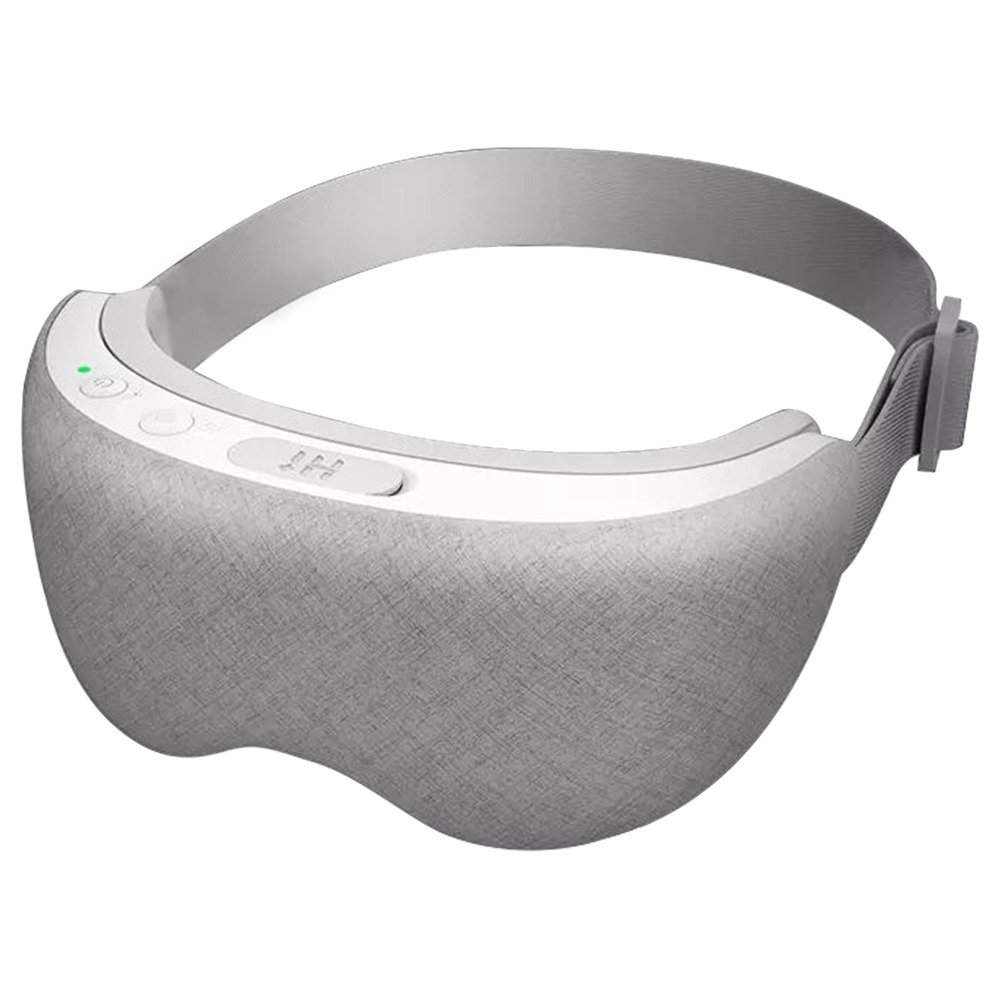 Hi + Ασύρματη φορητή μάσκα Smart Steam Μάτι USB Φόρτιση Ανακουφίζει από την οσμή Σταθερή θερμοκρασία Θέρμανση 3D Surround Έλεγχος APP Προστασία ματιών Αποσυμπίεση Θρέφει το δέρμα Αναβοσβήνει Μαύροι κύκλοι - Γκρι