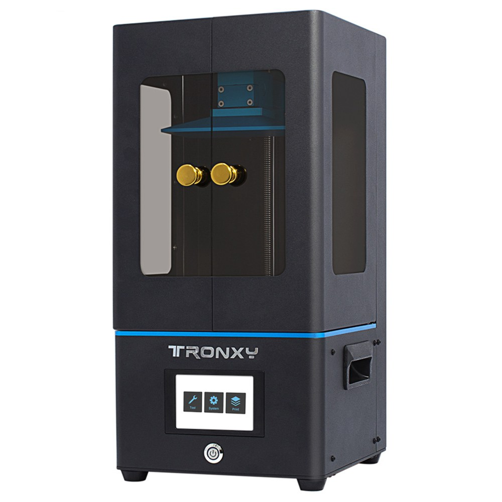 Tronxy Ultrabot SLA LCD Curing Resin 3D Printer with 5.5inch 2K Touch Screen, Fast Slicing UV Light-Curing Off-line Print Building Size 118x66x180mm
