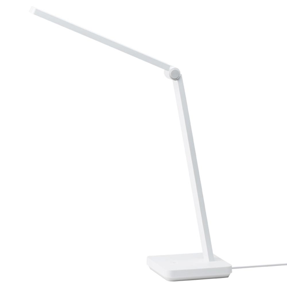 Xiaomi Mijia Lite Intelligente LED-Tischlampe Augenschutz Stilvoll Kompakt Moderner Stil Keine Blaulichtstrahlung 8W LED-Beleuchtung Drei Beleuchtungsstufen Verstellbarer Lampenarm - Weiß