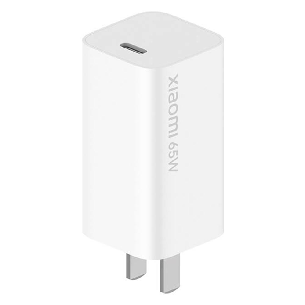 Chargeur de voyage d'origine Xiaomi GaN 65W 48% plus petit USB Type-C Sortie intelligente PD Charge rapide pour Samsung Chromebook Plus Apple MacBook Pro Huawei MateBook X Pro Notebook Xiaomi - Prise US blanche
