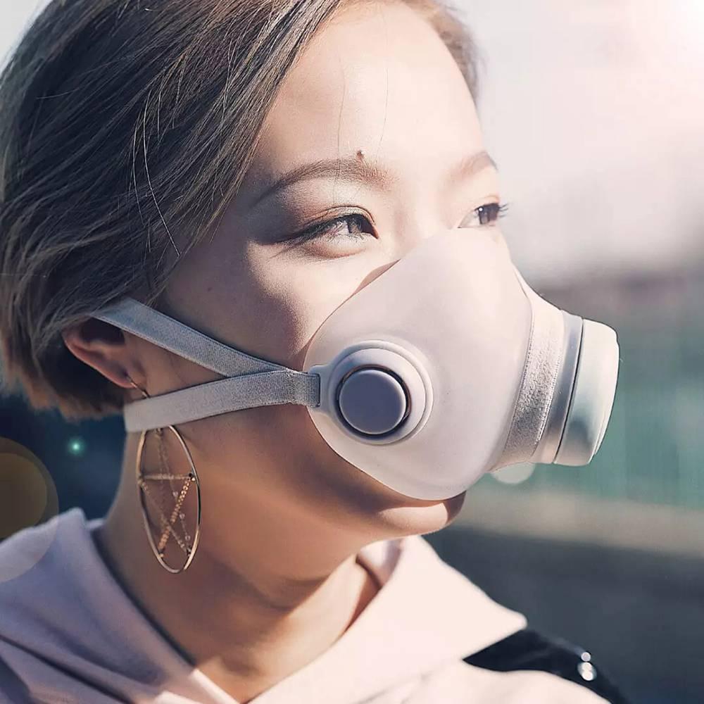Woobi Play قناع مضاد للتلوث للبالغين قابل لإعادة الاستخدام قابل للغسل F95 4 طبقات فلتر 95٪ مضاد PM2.5 قناع التنفس الآمن النظيف من Xiaomi Youpin