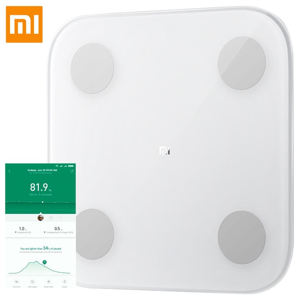 Xiaomi 2.0 Έξυπνη κλίμακα λίπους σώματος Bluetooth - Λευκή