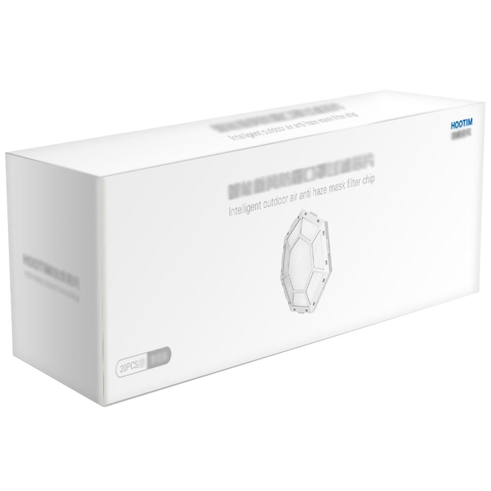 20PCS Original-Ersatzfilter Antibakterielle Rate 99% oben Für Hootim Electric Anion Sterilizing Mask