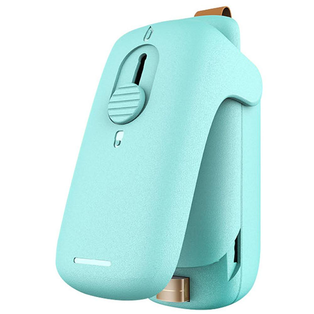 מכונה איטום מהיר כף יד מיני ניידת מכונה איטום חום שקופיות - כחול