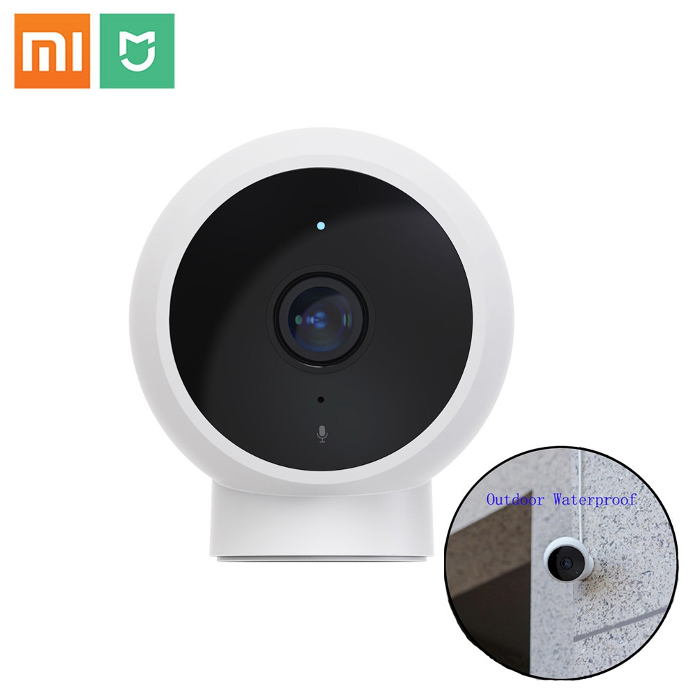 Xiaomi Mijia 1080P FHD Smart IP Camera Standard Edition AI Human Detection Outdoor Camera Baby Security Monitor- White
