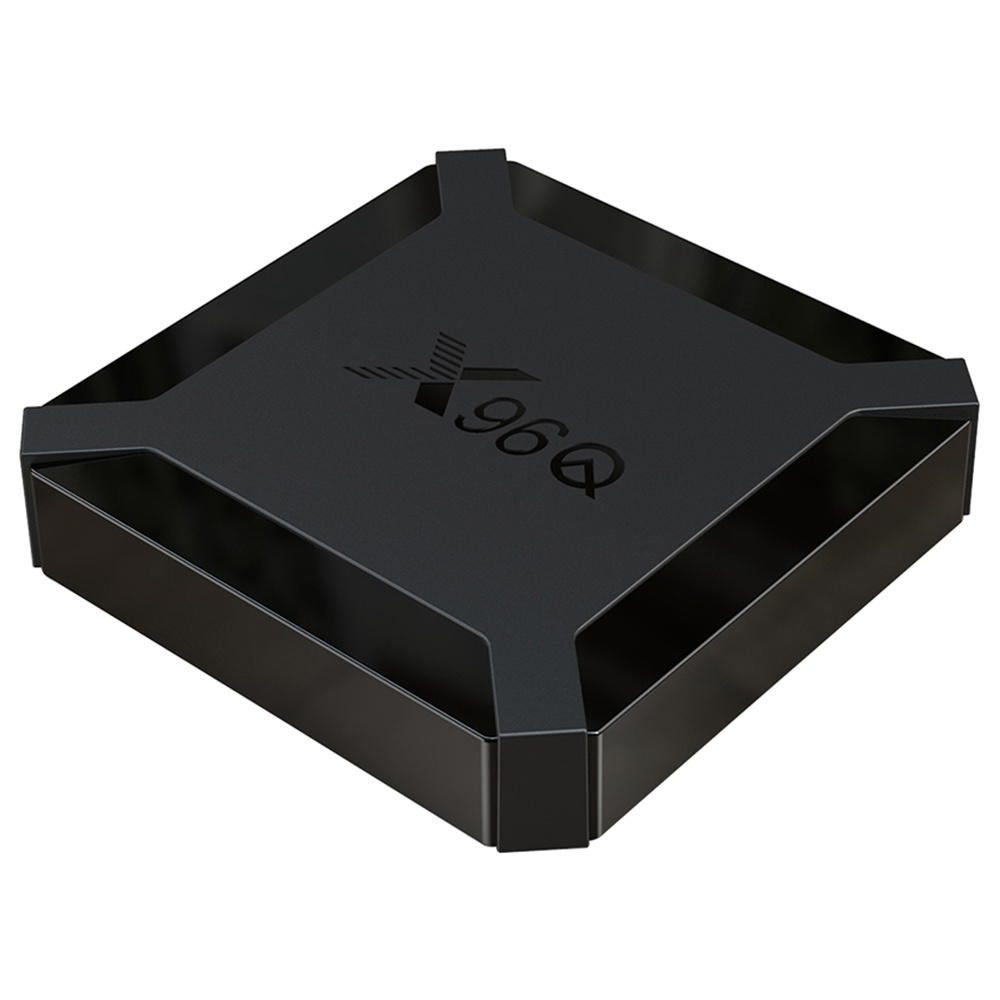 X96Q Allwinner H313 4K@60fps Android 10 TV BOX 1GB RAM 8GB ROM 2.4G WIFI HDMI AV RJ45 USB2.0