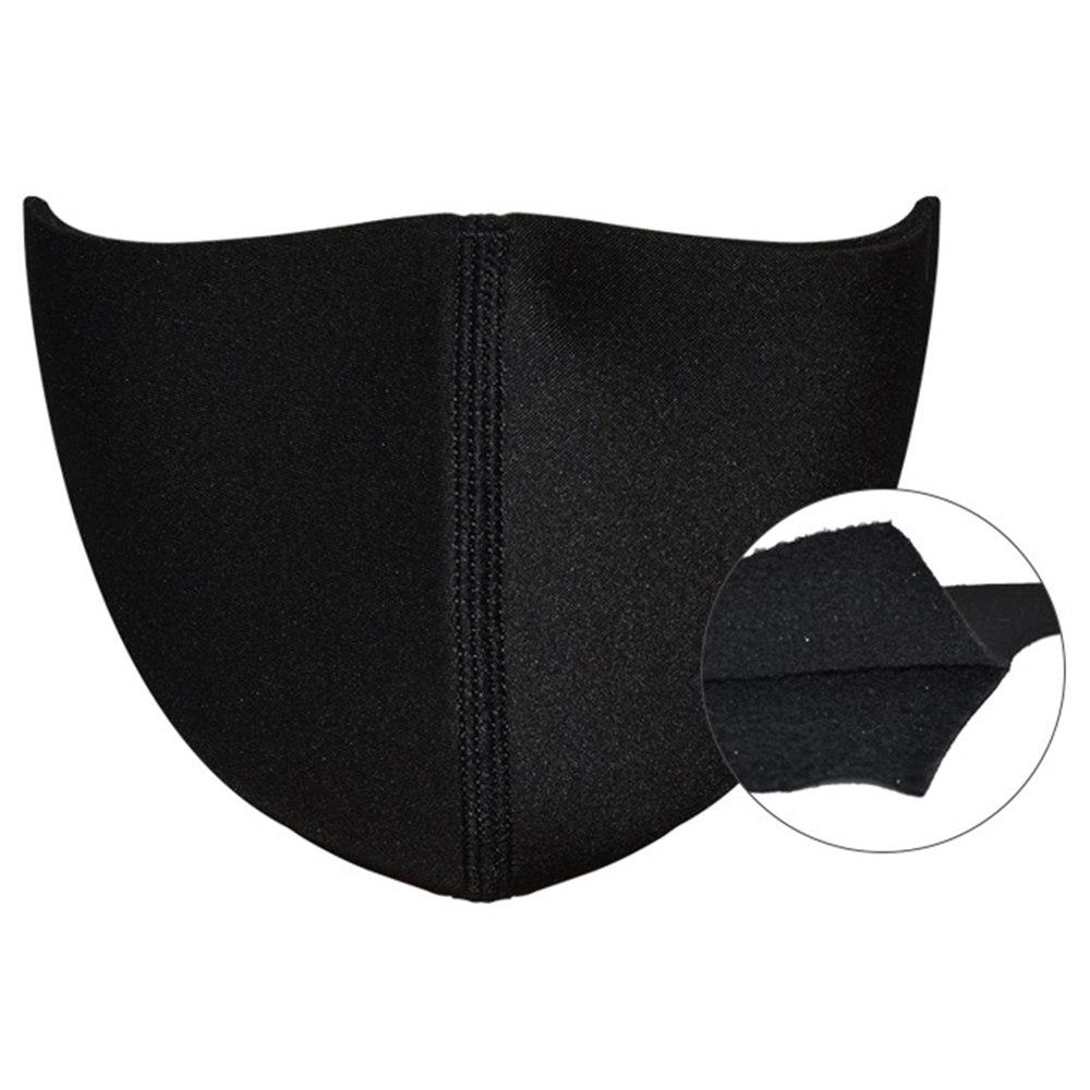 Γνήσιο Έξυπνο Ηλεκτρικό Μάσκα Αντικαταστάσιμο Εξωτερικό Κάλυμμα Πολυεστέρας Soft Silica Gel Υλικό Βαθμού Τροφίμων- Μαύρο