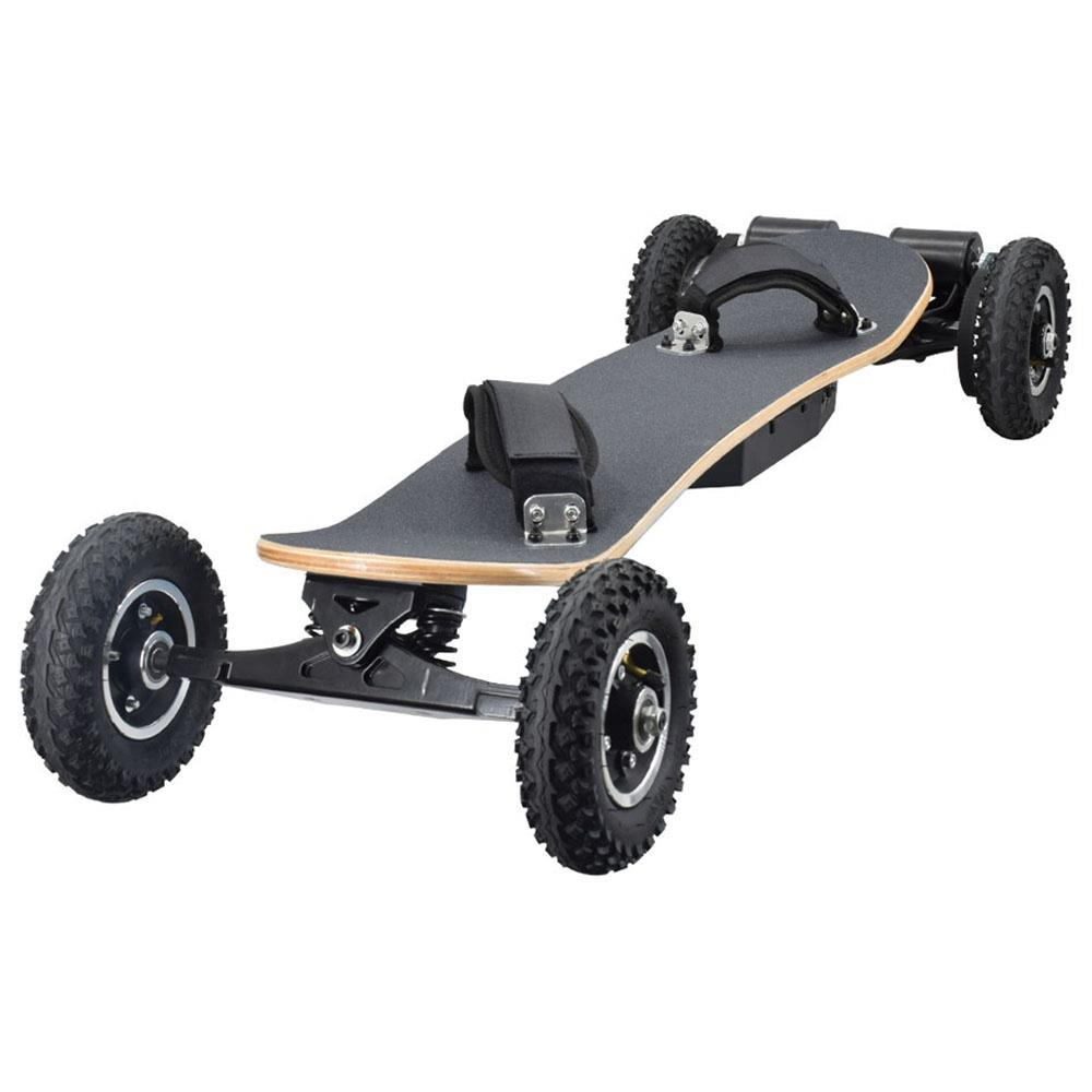 SYL-08 Electric Skateboard 1450W Motor 40km/h With Remote Control Off Road Type Electric Skateboard - Black