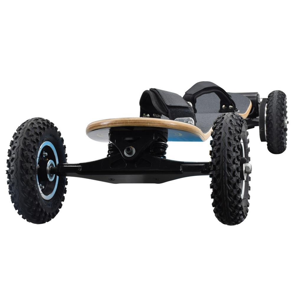 SYL-08 Electric Skateboard 1450W Motor 38km/h With Remote Control Off Road Type Electric Skateboard - Black