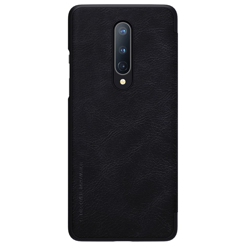 Capa de couro protetora NILLKIN para Oneplus 8 Smartphone - Preto