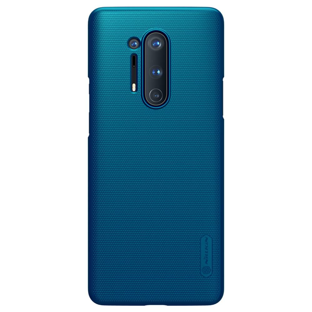NILLKIN Protective Frosted PC Phone Case For Oneplus 8 Pro Smartphone - Blue