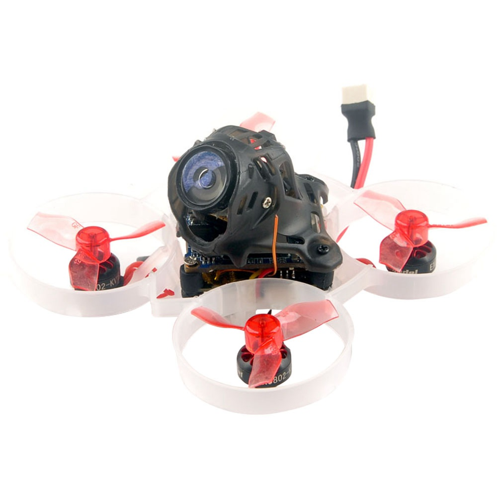 Happymodel Mobula6 HD 1S 65mm Brushless HD Whoop FPV Racing Drone مع Crazybee F4 Lite 1S Flight Control w / Runcam Nano3 - جهاز استقبال Frsky D8 متوافق