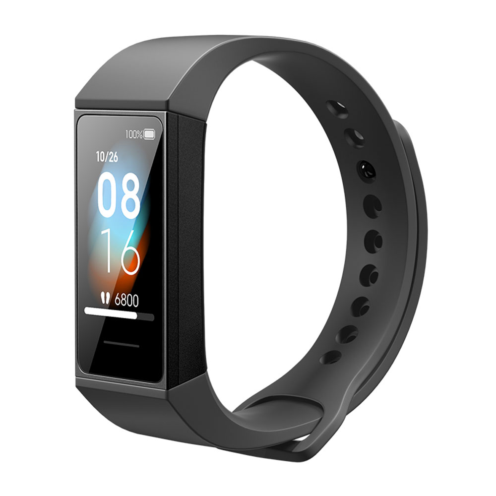 Xiaomi Redmi Band 1.08 inch Color Touch Screen 5ATM Waterproof 14 Days Battery Life Heart Rate Monitor Chinese Version - Black