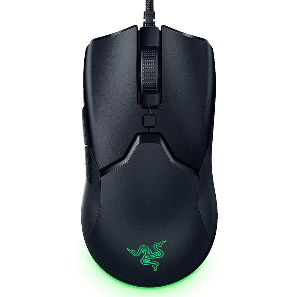 Razer Viper Mini RGB Gaming Mouse 8500 DPI Optical Sensor 6 Programmable Buttons 61G Ultra Light - Black