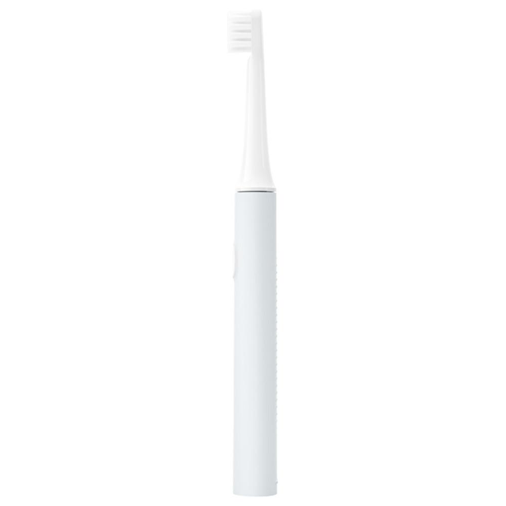 2 STÜCKE Xiaomi Mijia T100 Smart Sonic Elektrische Zahnbürste Hochdichtes weiches Haar Zwei Reinigungsmodi IPX7 Wasserdichtes USB-Laden 30 Tage Akkulaufzeit Mundpflege Bleaching - Blau