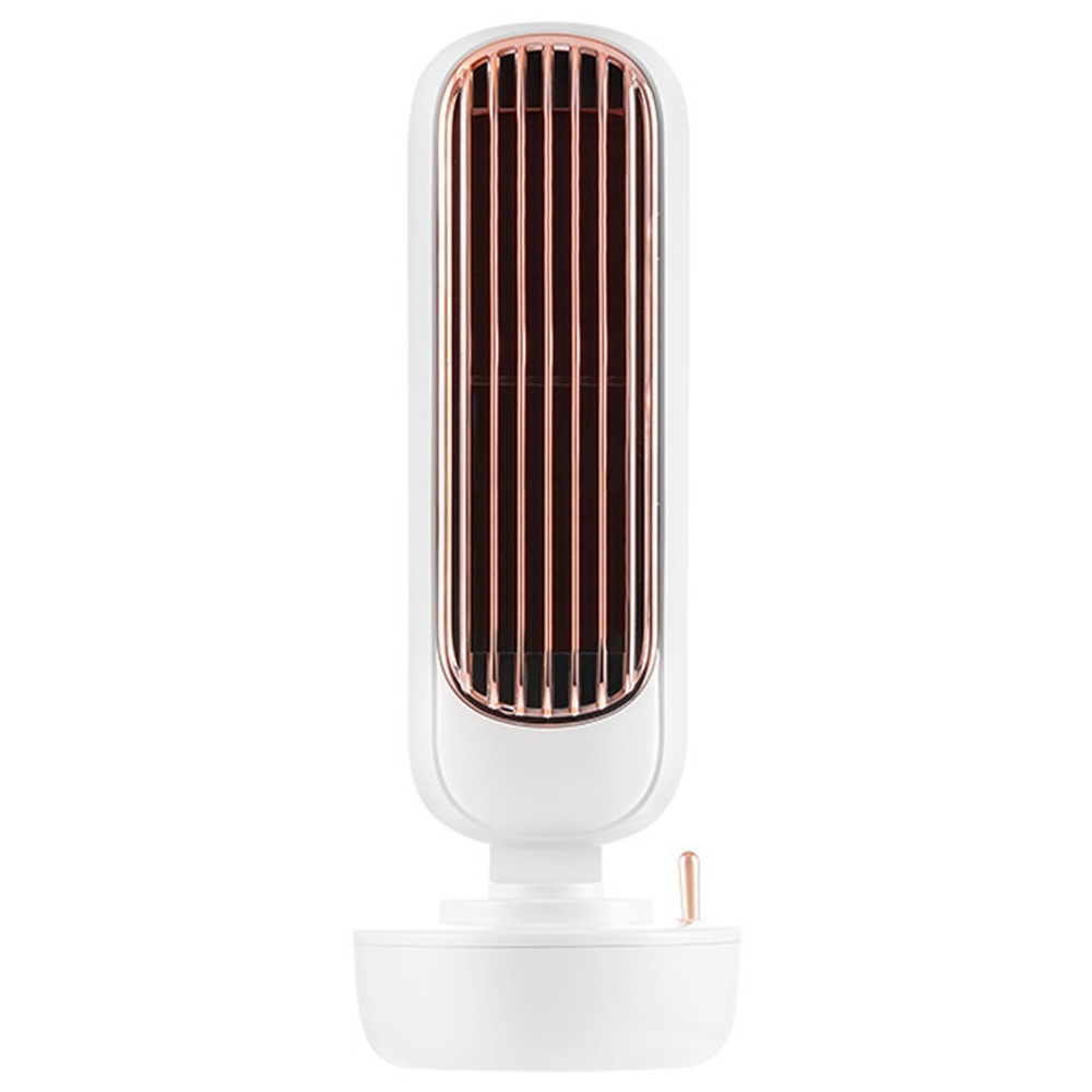Summer Portable Desktop Spray Tower Fan Humidification Cooling White