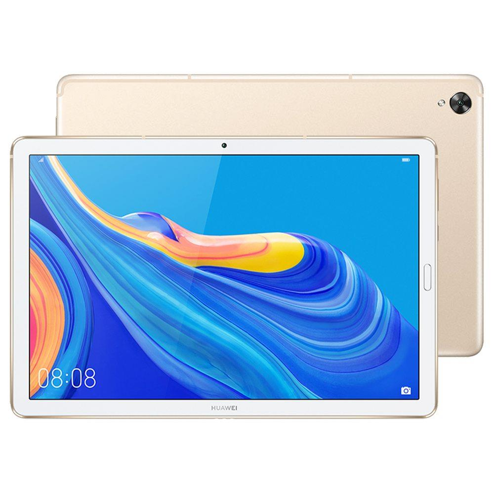 HUAWEI M6 WiFi Tablet PC CN Rom 10.8 Inch IPS 2560*1600 Screen Hisilicon Kirin 980 Octa Core Mali G76 Android 9.0 4GB RAM 128GB ROM 13.0MP + 8.0MP Camera 7500mAh Battery Application Split Screen - Gold